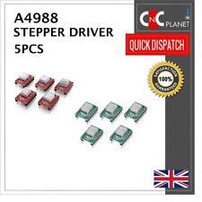 5 x A4988 StepStick Stepper Motor Driver with Heat Sink Reprap Prusa 3D Printer
