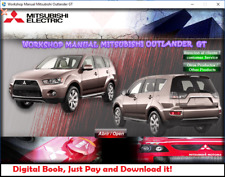 WORKSHOP MANUAL / REPAIR MANUAL MITSUBISHI OUTLANDER GT 2010-2012
