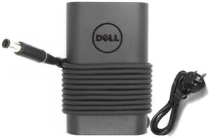 Dell 65W 19.5V Slim 3-Prong AC Power Adapter for Inspiron/Latitude - Black...