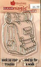 Woodware Clear Magic Stamp - Rucksack JGS427