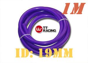 "19mm 3/4"" Silicone Vacuum Tube Hose Silicon Tubing Silicon 3FT 1M Meter Purple"