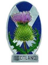 Scotland Thistle Saltire Fridge Magnet Scottish Flag National Souvenir Gift