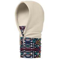 Buff Polar Fleece Hoodie Multi Function Headwear Neck Warmer, Adonai Multi