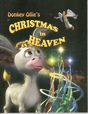 Donkey Ollie : Christmas in Heaven by Brian Stewart  w FREE SHIPPING