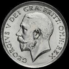 More details for 1915 george v silver shilling, a/unc #3