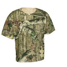 Summer Hunting Fishing Short Sleeve T-shirt Bionic Camouflage Tee T Shirt