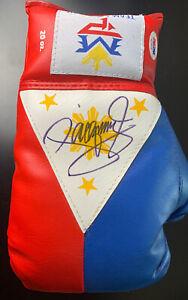 "Manny ""Pacman"" Pacquiao Signed Boxing Glove Autograph AUTO PSA/DNA Sticker + COA"