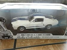 Shelby Collectibles Eleanor 1967 Shelby GT 500E Mustang Cobra 1:18 Diecast Car