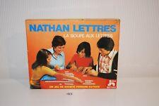 C123 Ancien jeu de société La Soupe Aux Lettres Nathan