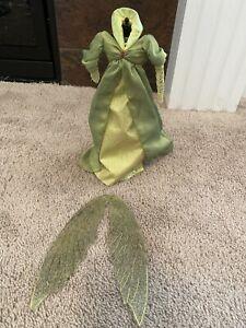 Barbie Ireland Faerie Fairy Queen Dress Wings New
