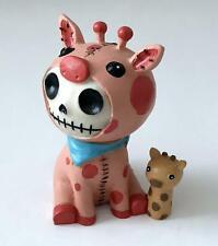 Furrybones Giraffe Kirin ~ Skull Face in Outfit ~ Cute Furry Bones Figure ~ Nib