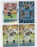 (4 LOT) 2020 Austin Ekeler Panini Donruss Football Elite Series