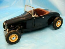 """Die-Cast Promotions 1929 Ford Model A Roadster Hot Rod """"RARE"""" Midnight Blue 1/18"""