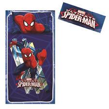 SPIDERMAN SPIDERMAN ensemble lit Trois pièces bleu avec fantaisie en coton bébé