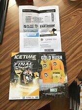 IceTime Program & Ticket Stub 2017 Stanley Cup Final Penguins Predators Game 2