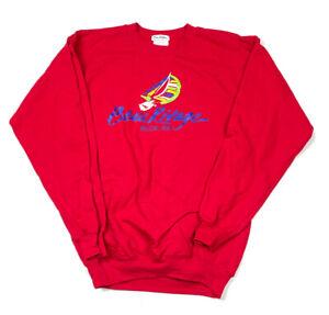 NWT Beau Rivage Ridge Red Pullover Sweatshirt 50-50 Biloxi Mississippi Men's M