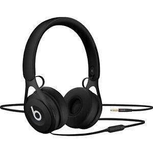Beats EP Headphones Wired On Ear Black Apple IOS Remote Talk 3.5mm Loud Music