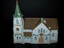 Lemax Christmas Hearthside Village Light UP Church Steeple 92 Chapel Collectible