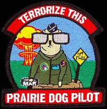 Usaf 532nd Training Sq - Prairie Dog Pilot- Vandenberg Afb - Vafb Original Patch