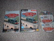 SEVERN VALLEY RAILWAY ~ MICROSOFT TRAIN SIMULATOR ADD-ON MSTS ADD ON COMPLETE