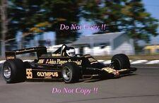 Jean-Pierre JARIER JPS Lotus 79 USA GRAND PRIX 1978 Fotografia 4