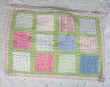 Pottery Barn Kids Standard Pillow Sham Patchwork Quilt Country Cottage
