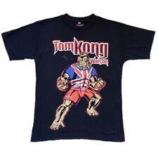 """UFC Tom """"Kong"""" Watson Hand Signed Pitbull T-Shirt Autograph MMA BAMMA Champion"""
