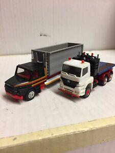 Herpa 1.87 Ho 2 X Trucks Scania/ Mercedes