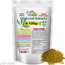 100g (3.53oz) Olive Leaf Powder Extract - 20% Oleuropein - FREE Shipping
