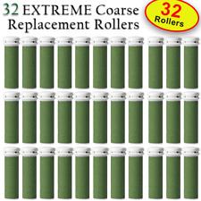 32 X EXTREME Coarse Micro Mineral Emjoi Micro-Pedi Compatible Replacement Roller