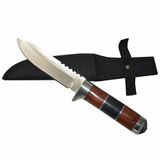 New Sharp Stainless Steel Short Fighting Knife Dagger with Cover