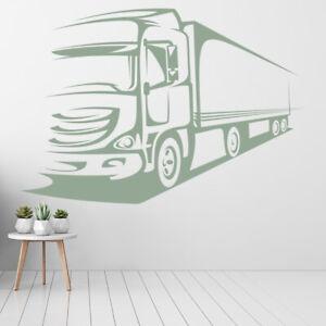 Camion Grande camion Adesivo Murale WS-17931