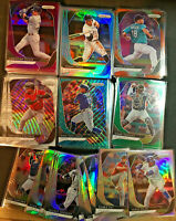 2020 Prizm Baseball Parallel Base Cards 1-250 (You Pick Your Card) Silver Red BW
