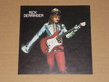 Rick Derringer 1973 Epic Records unused Promo Sticker