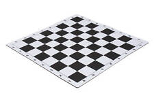 """Mouse Pad Style Tournament Chess Board - 2.25"""" Black"""