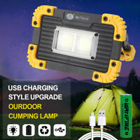 5W Mini COB LED Work Light Portable Camping Outdoor Flashlight USB Rechargeable