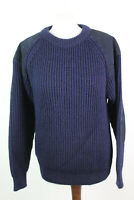 WOOLOVERS Navy Jumper Size S