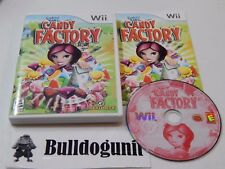 Candace Kane's Candy Factory Nintendo Wii Complete Game with Case & Manual