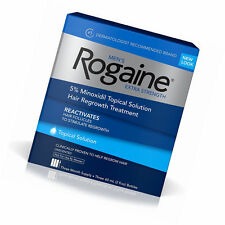 Men's Rogaine Extra Strength 5% Minoxidil Topical Solution 3 month supply