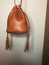 Free People Boho Leather Pouch