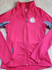 University of Alabama Crimson w/ Gray Ladies Zip Up Fitted Jacket Size Small