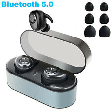 Wireless Earbuds Bluetooth 5.0 Headphones Noise Cancelling Sports Bass Headset