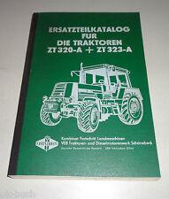 Catalogue de Pièces Détachées Fortschritt Tracteur Zt 320-A / 323-A,Stand