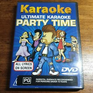 Karaoke Party Time MRA  R4 LIKE NEW Celine Dion George Michael Simply Red Cher