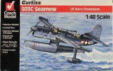 Czech Model 1:48 Curtiss SO3C Seamew US Navy Floatplane Plastic Model Kit #4817U