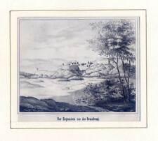 Blankenburg - Regenstein - Lithographie aus Görges 1843