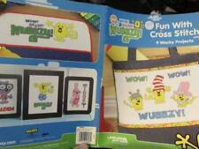 Wow Wow Wubbzy Fun With Cross Stitch Book-9 Projects-Leisure Arts