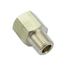 "Brass Pipe Fitting  Adapter 1/8"" Male NPT X 1/8"" Female NPT"