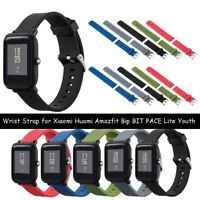 Soft Silicone Band Strap for Xiaomi Huami Amazfit Bip BIT PACE Lite Smart Watch-