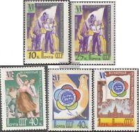 Sowjet-Union 1945A-1949A (kompl.Ausg.) gestempelt 1957 Weltfestspiele der Jugend